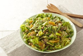 Leafy Bean, Bulgur & Orange Salad