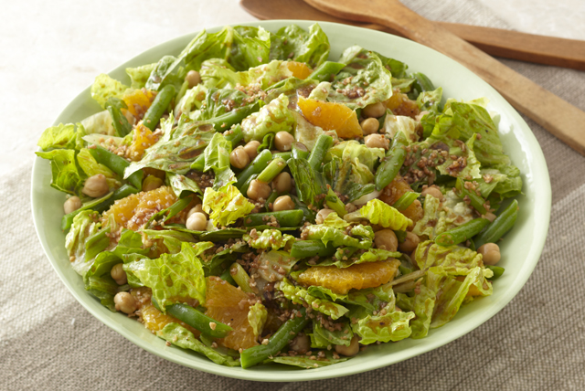 Leafy Bean, Bulgur & Orange Salad Image 1