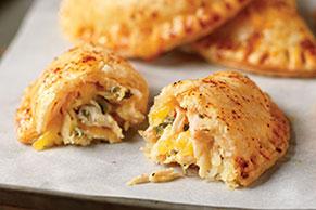 Empanadas de pollo con queso