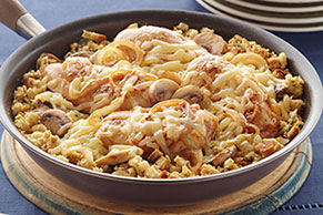 Chicken Skillet with Mushrooms and Onions