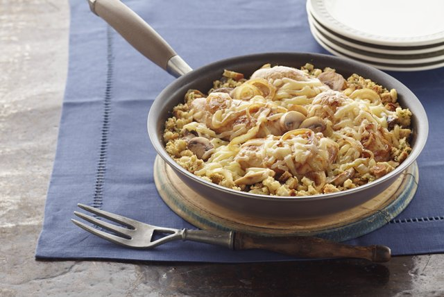 Chicken Skillet with Mushrooms and Onions Image 1