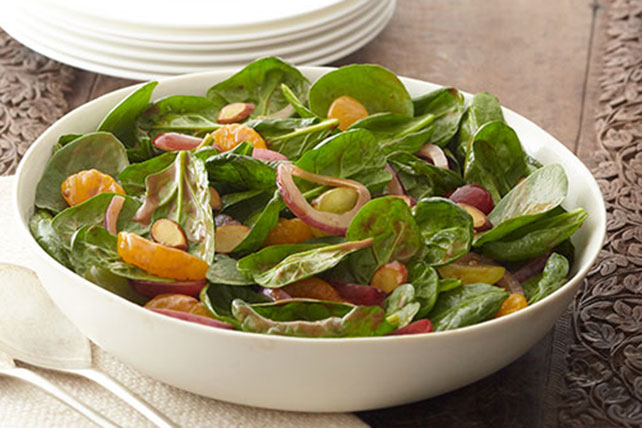 Gather 'Round Spinach Salad