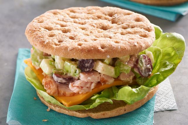 Turkey Garden Crunch Sandwich Image 1