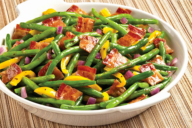 Bacon & Balsamic Green Beans Image 1