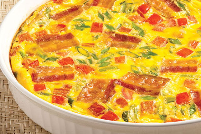 Cheesy Bacon Frittata Image 1