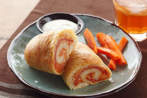 Five Cheese Salami Stromboli