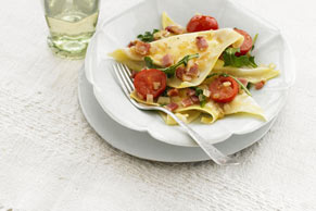 Italiano Ravioli with Tomato & Bacon