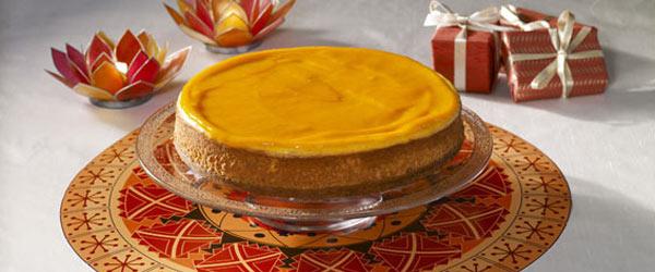 Mango Kulfi Cheesecake