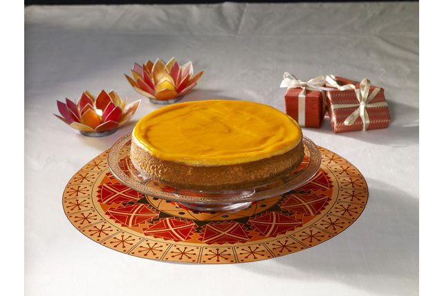 Mango Kulfi Cheesecake Image 1