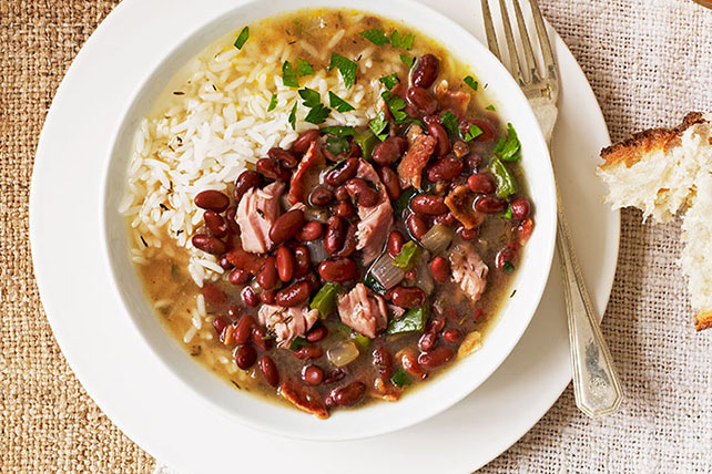 Red beans rice soul food recipe kraft recipes red beans rice soul food recipe forumfinder