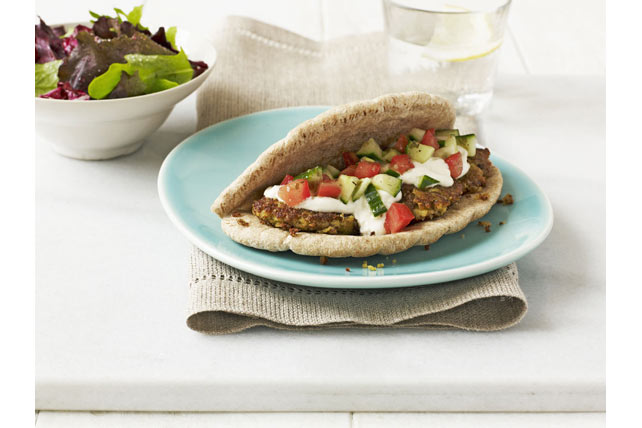 Falafel Sandwich Image 1