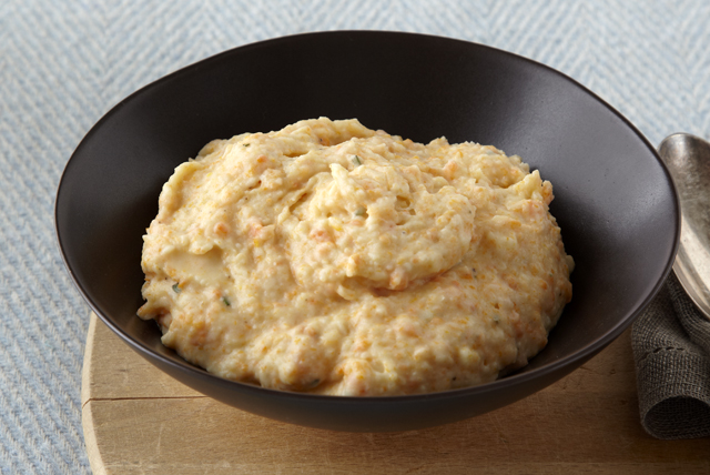 Potato, Carrot & Cauliflower Mash