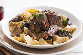 Slow-Cooker Short Rib Stroganoff