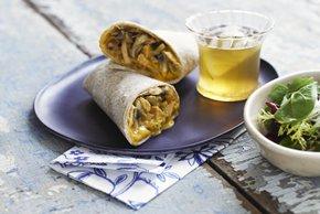 Chicken Marsala Wrap