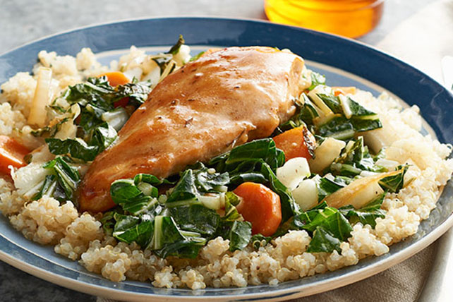 Sautéed Chicken and Quinoa Recipe