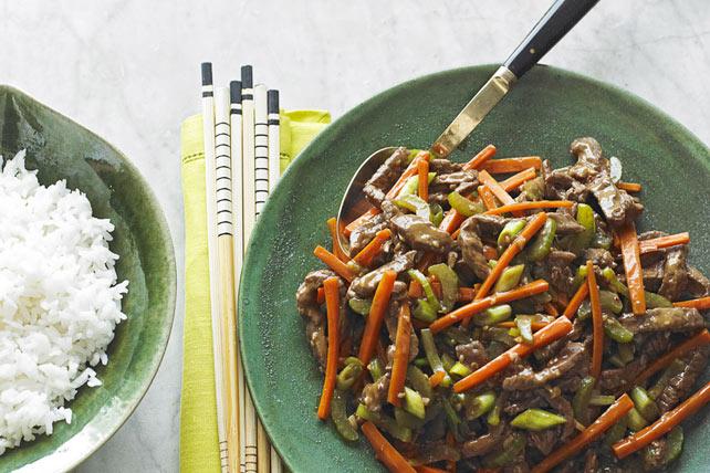 Szechuan Shredded Beef Stir-Fry Image 1
