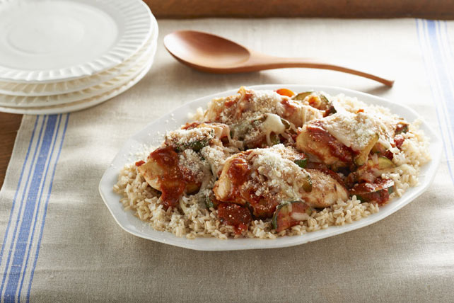 Rustic Italian Chicken & Rice Image 1