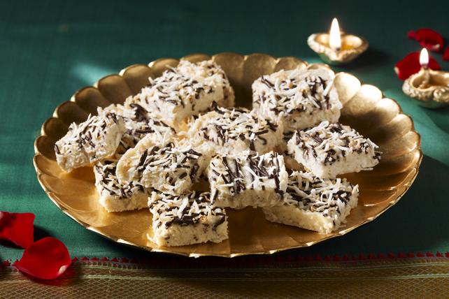 Burfi au chocolat et à la noix de coco Image 1