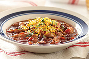 15-Minute Chicken Chili
