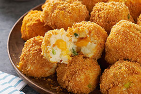 VELVEETA® Cheesy Potato Bites