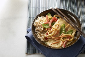 Thai Curried Tilapia Skillet