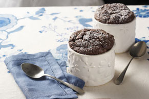 Chocolate Soufflés for Two