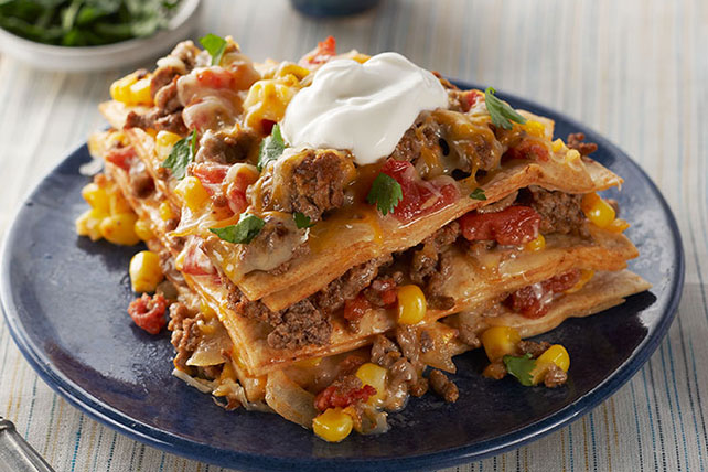 Easy Baked Taco Pie Image 1