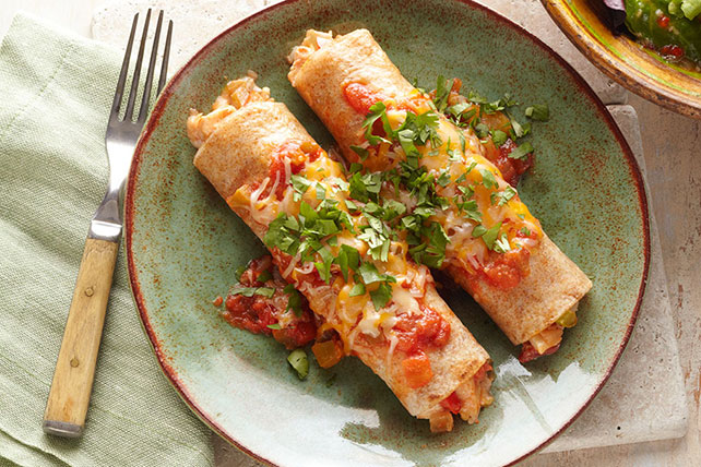 Fiesta Chicken Enchiladas Recipe Image 1