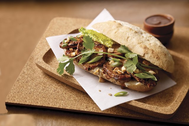 Asian Pork Tenderloin Sandwich Image 1