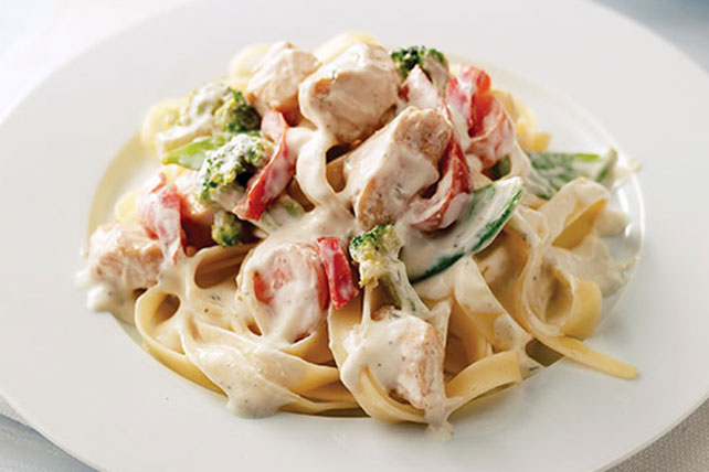 Chicken Primavera with Pasta Image 1