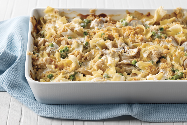Tuna Noodle Casserole Casual Dinner Party Menu