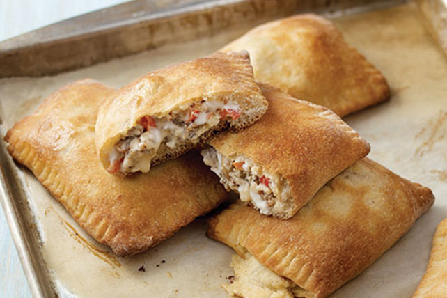 Sausage & Vegetable Calzones Image 1