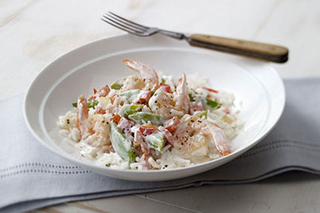 Creamy Shrimp & Rice Image 1