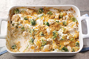 Creamy Chicken & Broccoli Casserole
