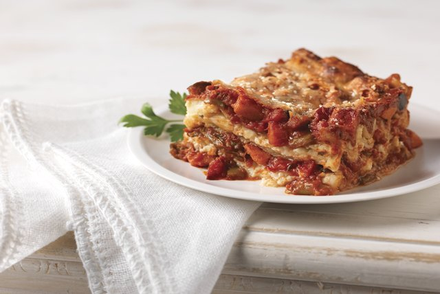 Roasted Vegetable Lasagna Image 1