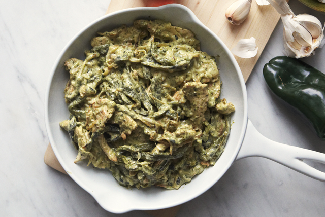 chicken-strips-in-creamy-rajas-poblanas-121806 Image 1