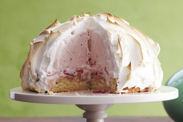 Strawberry Shortcake Baked Alaska Image 1