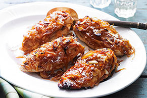 Caramelized Garlic & Onion Chicken