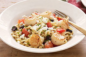 Mediterranean-Herbed Scallops Recipe