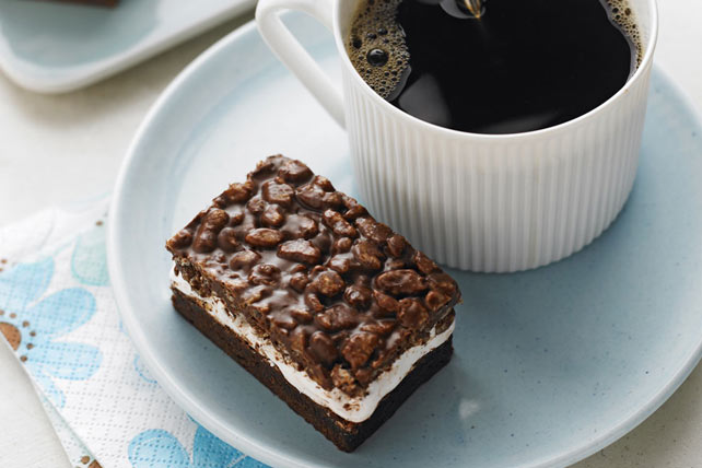 Nutty Chocolate Mallow Bars Image 1