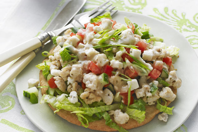 Greek Pita Tostadas Image 1