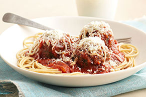 Smart Spaghetti & Meatballs