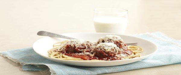 Smart Spaghetti & Meatballs