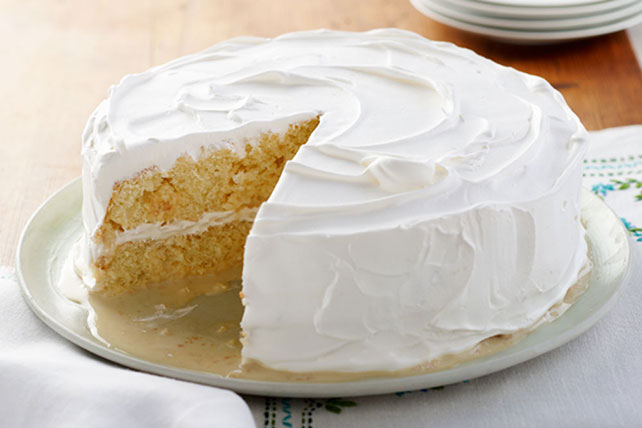 Layered Lemon Tres Leches Cake Kraft Recipes