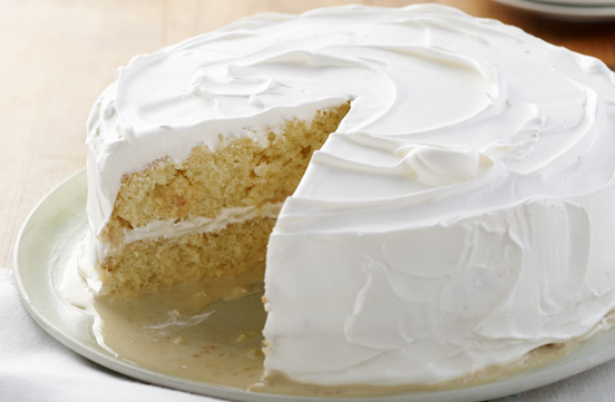 Layered Lemon Tres Leches Cake Image 1