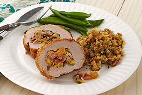 Fresh Mango-Stuffed Pork Tenderloin