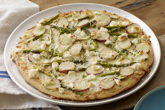 Asparagus, Potato & PHILLY Pizzeria Pizza Image 1