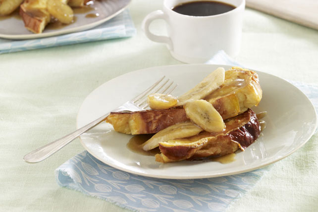 Make-Ahead Maple-Banana French Toast Image 1