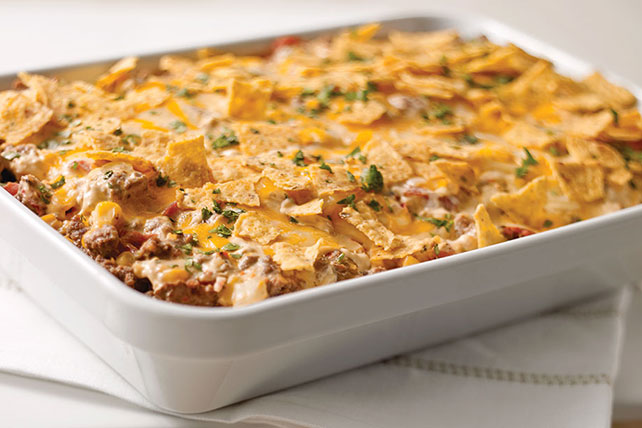 Tex-Mex Beef & Rice Casserole - Kraft Recipes