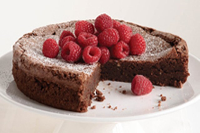 Flourless Chocolate Cake Image 1